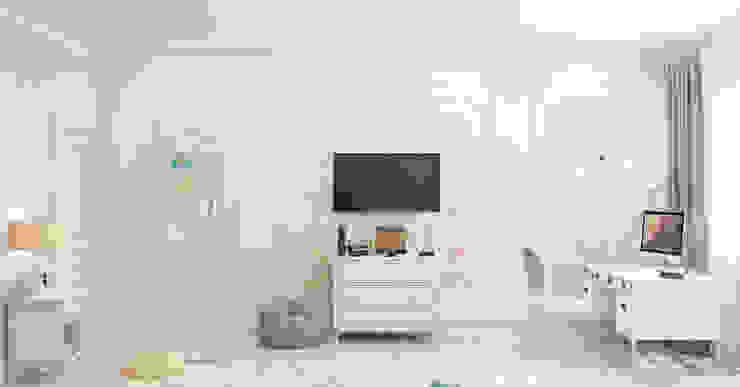 Chambre d'enfant de style  par Студия дизайна Дарьи Одарюк