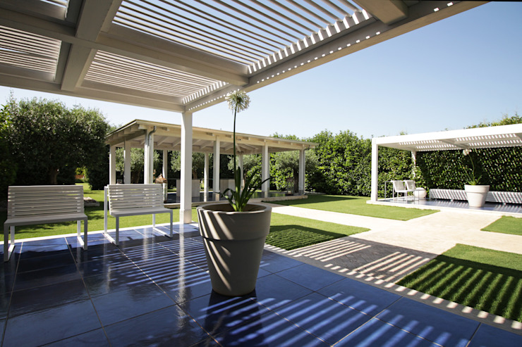 Jardin moderne par studioSAL_14 Moderne