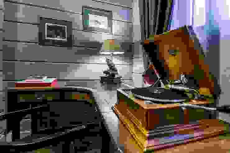 Klasyczne domowe biuro i gabinet od GOOD WOOD Klasyczny