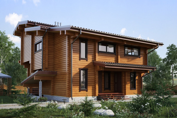 Casas de estilo  de GOOD WOOD, Moderno