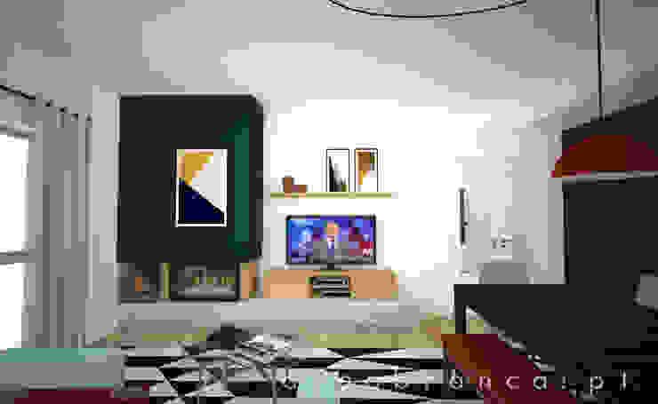 Sala Depois por Areabranca Moderno