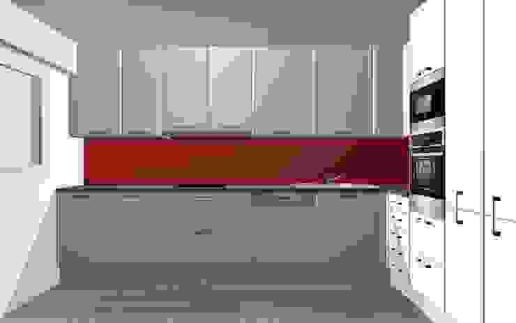 Remodelação de Cozinha - Apartamento por ARCUCINE - Cozinhas e Equipamentos, Lda Moderno