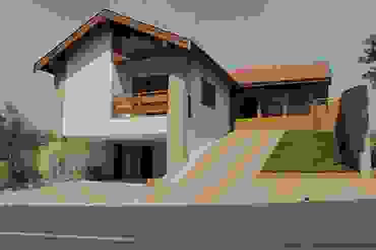 Casas de estilo rústico de Lozí - Projeto e Obra Rústico