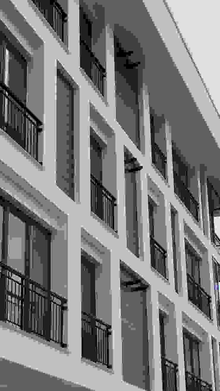 Lavinya Apartmanı Modern Evler yücel partners Modern Ahşap Ahşap rengi