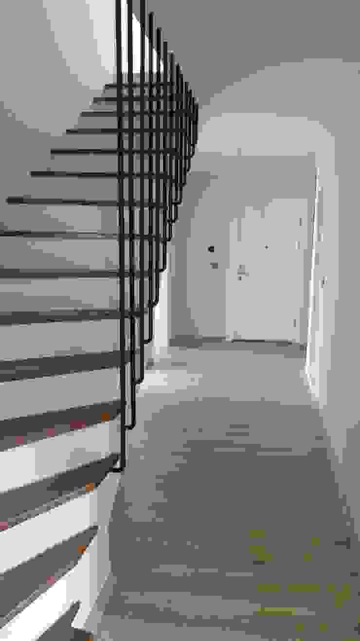 Lavinya Apartmanı Modern Koridor, Hol & Merdivenler yücel partners Modern Ahşap Ahşap rengi