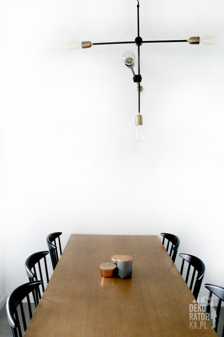 Comedores de estilo moderno de dekoratorka.pl Moderno
