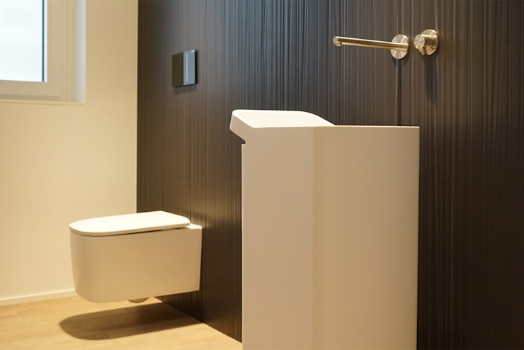 Andrea Gaio Design Modern bathroom