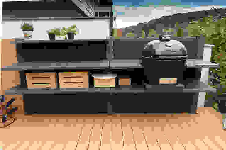 Will GmbH Modern terrace Stone Grey