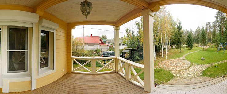Rustic style house by Дмитрий Кругляк Rustic