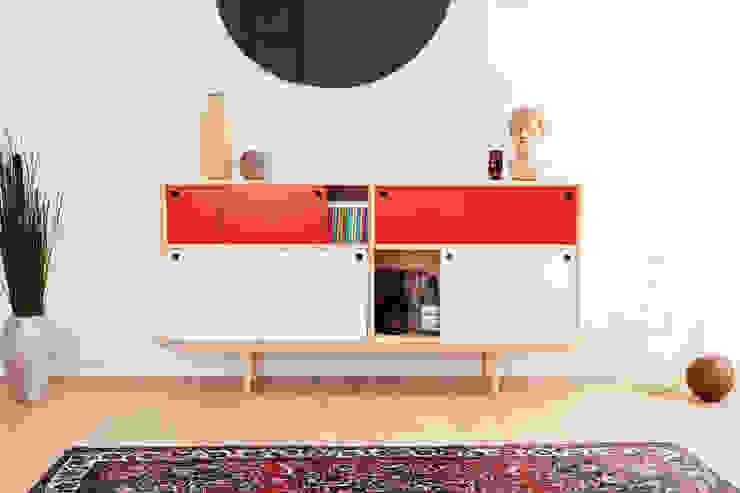 Splitter - 2x 1+1/2 ST4: modern  von Neuvonfrisch - Möbel und Accessoires,Modern Holz Holznachbildung