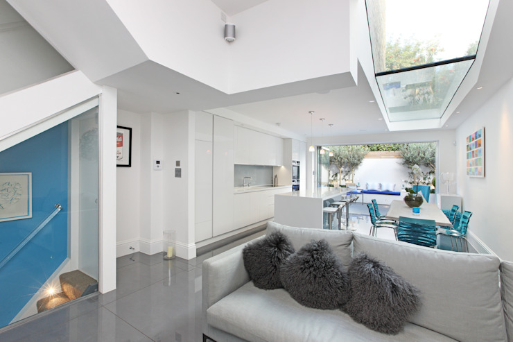 Battersea Town House Modern living room by PAD ARCHITECTS Modern