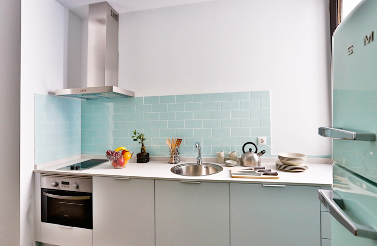 Scandinavian style kitchen by StudioBMK Scandinavian