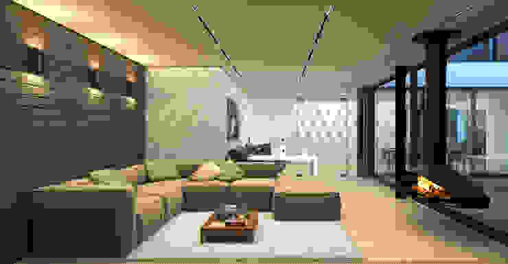 Bureau de style  par ALEXANDER ZHIDKOV ARCHITECT