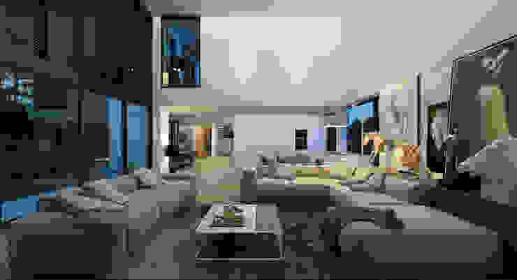 Salon de style  par ALEXANDER ZHIDKOV ARCHITECT