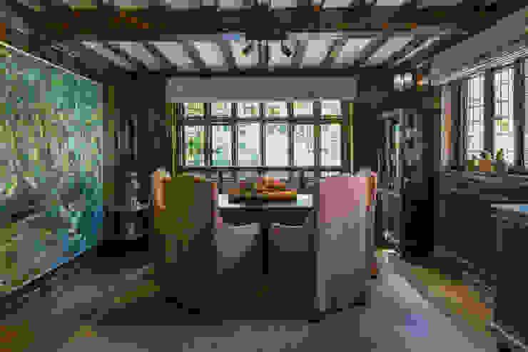 Richmond - Formal Dining Room Roselind Wilson Design Comedores de estilo ecléctico