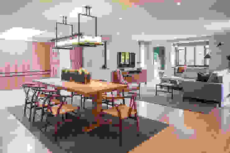 Richmond - Informal Dining Room Roselind Wilson Design Comedores de estilo ecléctico