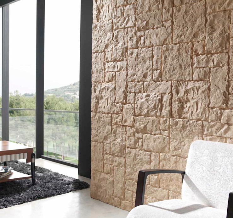 Modern Walls and Floors by FORMICA Venezuela Modern Stone