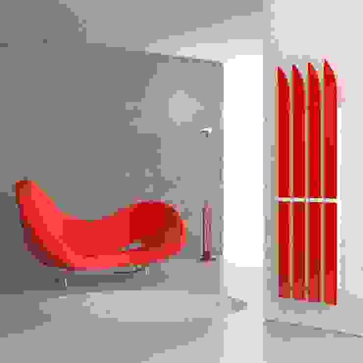 RF Design GmbH Baños de estilo moderno Rojo