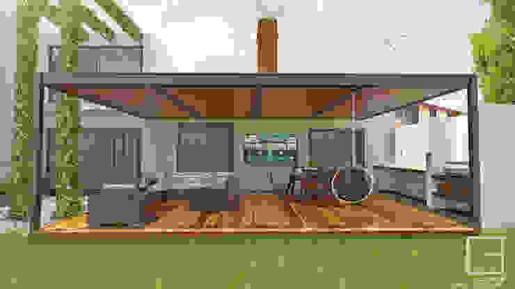 โดย CABSA Taller de Carpintería & Arquitectura