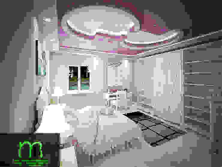 bedroom من EL Mazen For Finishes and Trims كلاسيكي خشب معالج Transparent