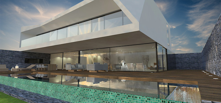 casa CH Casas modernas por 1870 ARQUITECTURA | INTERIORES Moderno