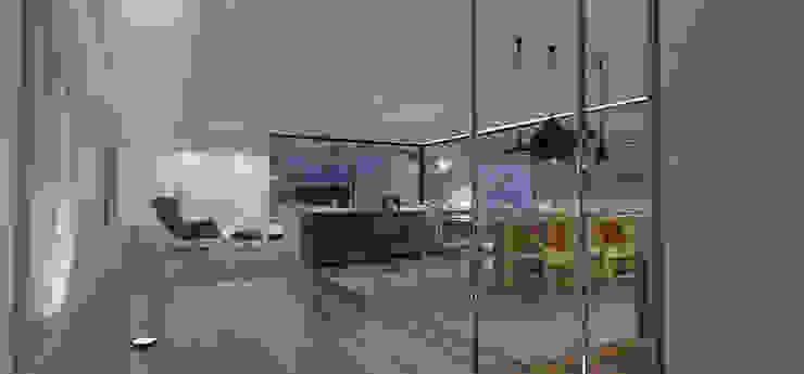 casa CH Salas de estar modernas por 1870 ARQUITECTURA | INTERIORES Moderno