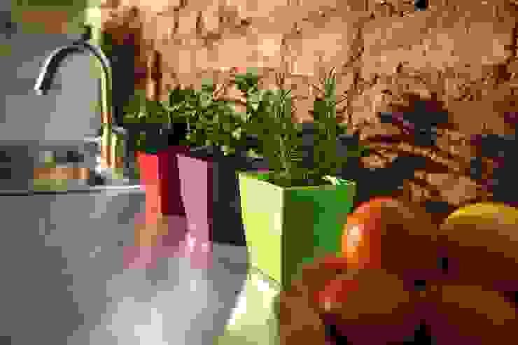 Matera small Verde en Plástico 100% Reciclado de Viridis Productos Eco Amigables Moderno Plástico