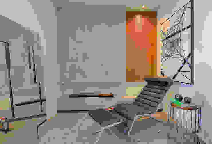 Sgabello Interiores Minimalist living room Concrete Grey