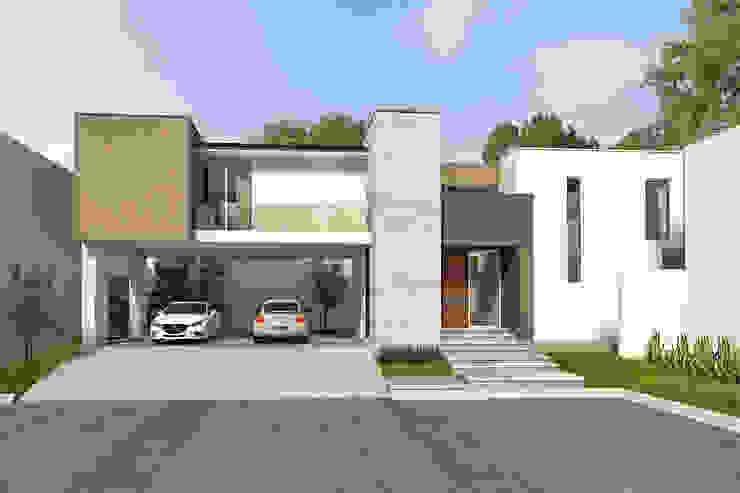 Casas de estilo  de Indigo Arquitectos, Minimalista Piedra