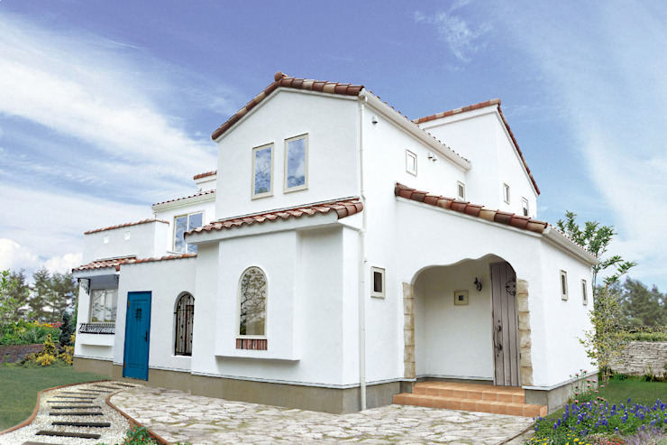 Casas mediterráneas de 주식회사 인듀어홈 코리아 Mediterráneo Caliza