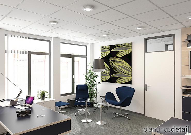 Besprechung Moderne Bürogebäude von planungsdetail.de GmbH Modern