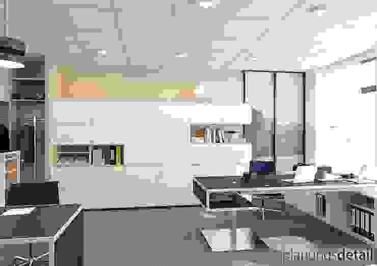Chefbüro Moderne Bürogebäude von planungsdetail.de GmbH Modern