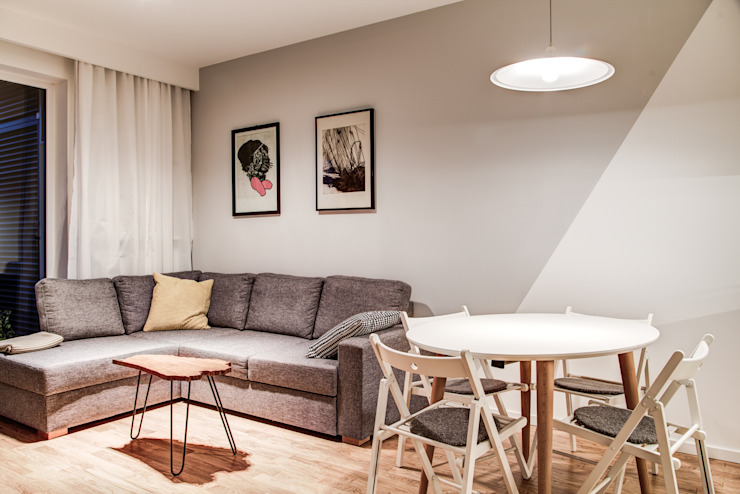 Salones de estilo moderno de Perfect Space Moderno