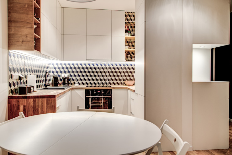 Cocinas modernas de Perfect Space Moderno