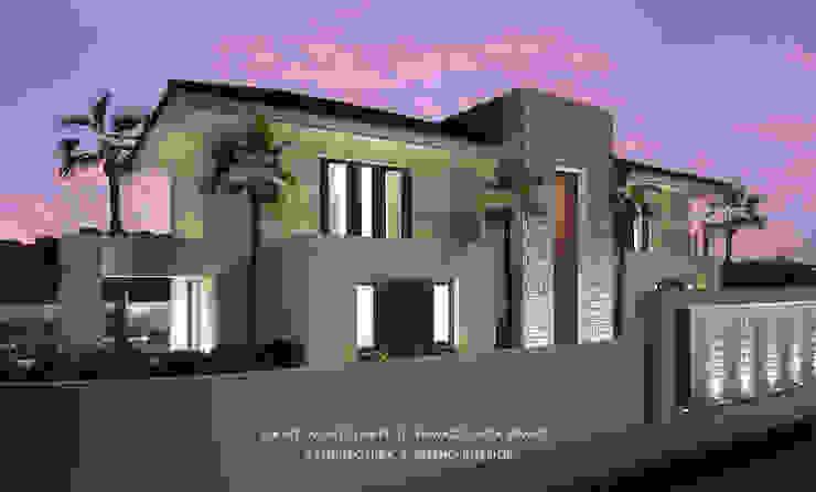Dmg-Arquitectura - David Marchante - Inmaculada Bravo - Villa Benahavis - Cam 03 noche Casas mediterráneas de David Marchante | Inmaculada Bravo Mediterráneo