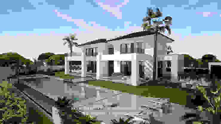 Dmg-Arquitectura - David Marchante - Inmaculada Bravo - Villa Benahavis - Cam 01 día Casas mediterráneas de David Marchante | Inmaculada Bravo Mediterráneo