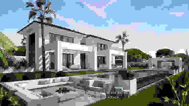 Dmg-Arquitectura - David Marchante - Inmaculada Bravo - Villa Benahavis - Cam 02 día Casas mediterráneas de David Marchante | Inmaculada Bravo Mediterráneo