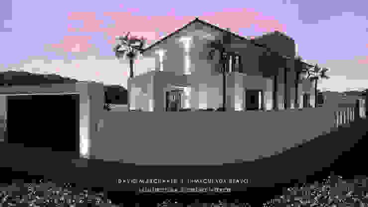 Dmg-Arquitectura - David Marchante - Inmaculada Bravo - Villa Benahavis - Cam 04 noche Casas mediterráneas de David Marchante | Inmaculada Bravo Mediterráneo