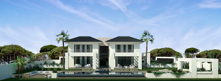 Dmg-Arquitectura - David Marchante - Inmaculada Bravo - Villa Benahavis - Cam 05 día Casas mediterráneas de David Marchante | Inmaculada Bravo Mediterráneo