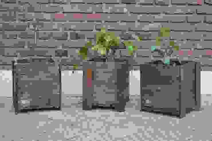 MACETA de Pequeños Proyectos Rústico Madera Acabado en madera