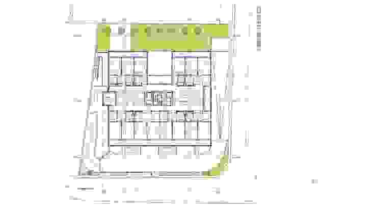"""Edifício """"AAJUDE – Associação de Apoio à Juventude Deficiente"""": modern  door architektengroep roderveld, Modern"""