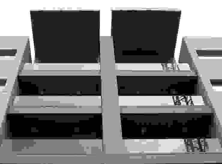 Edifício Rosário – Habitação Coletiva Moderne huizen van architektengroep roderveld Modern