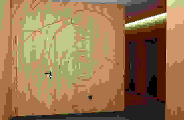 Edifício Rosário – Habitação Coletiva Moderne gangen, hallen & trappenhuizen van architektengroep roderveld Modern