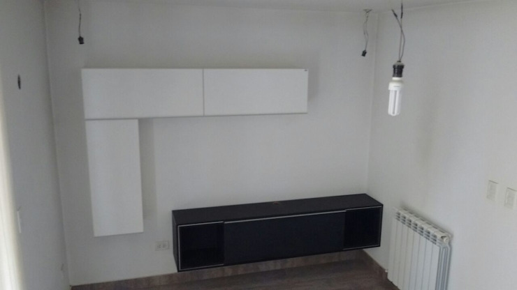Aurea Arquitectura y Amoblamientos BedroomBedside tables
