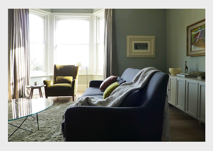 Town House, Sussex. Salas de estar clássicas por CHALKSPACE Clássico