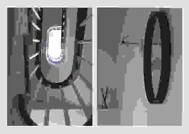 Town House, Sussex. Corredores, halls e escadas clássicos por CHALKSPACE Clássico