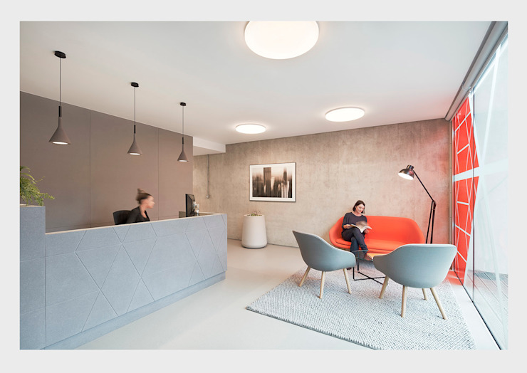 Design concept for Legal offices, Manchester. CHALKSPACE Complesso d'uffici moderni
