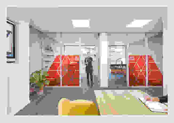Design concept for Legal offices, Manchester. CHALKSPACE Bangunan Kantor Modern