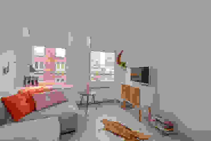 Interieurontwerp appartement Amsterdam Rustieke woonkamers van Studio Binnen Rustiek & Brocante