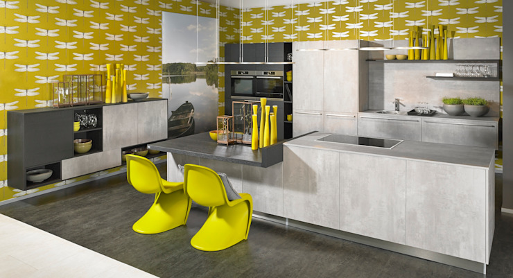 KOW Hausfair ALNO AG : modern  by ALNO North America, Modern Ceramic